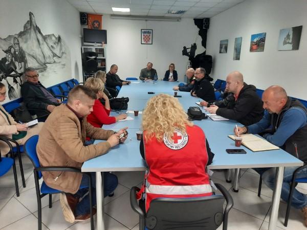 Održan sastanak Stožera civilne zaštite Grada Ogulina