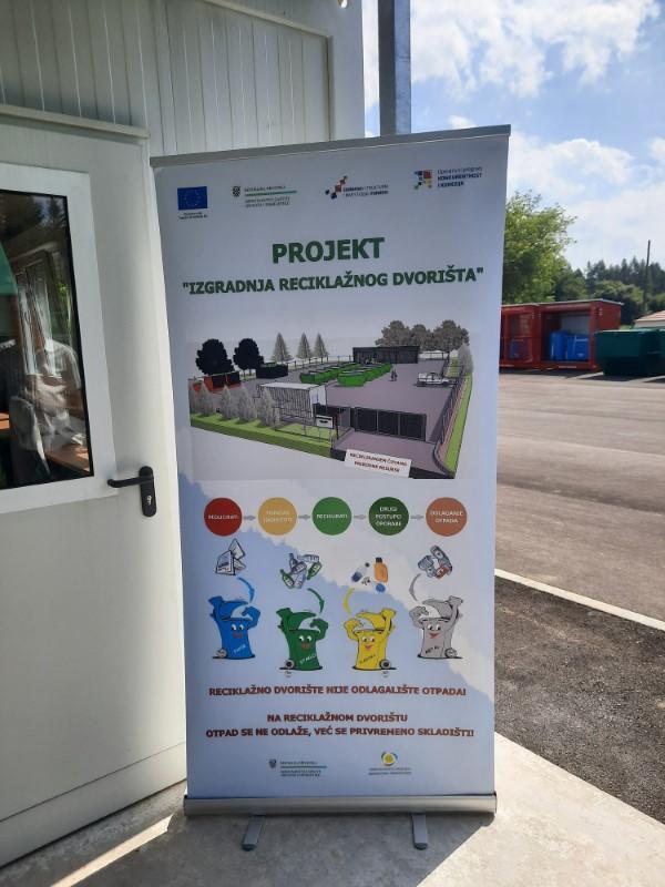 """Završna konferencija projekta """"Izgradnja reciklažnog dvorišta u Ogulinu"""""""