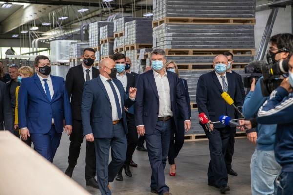 Predsjednik Republike Hrvatske Zoran Milanović posjetio Ogulin
